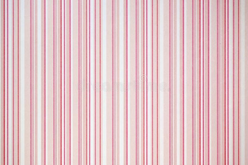 Papel con las rayas rosadas imagen de archivo libre de regalías