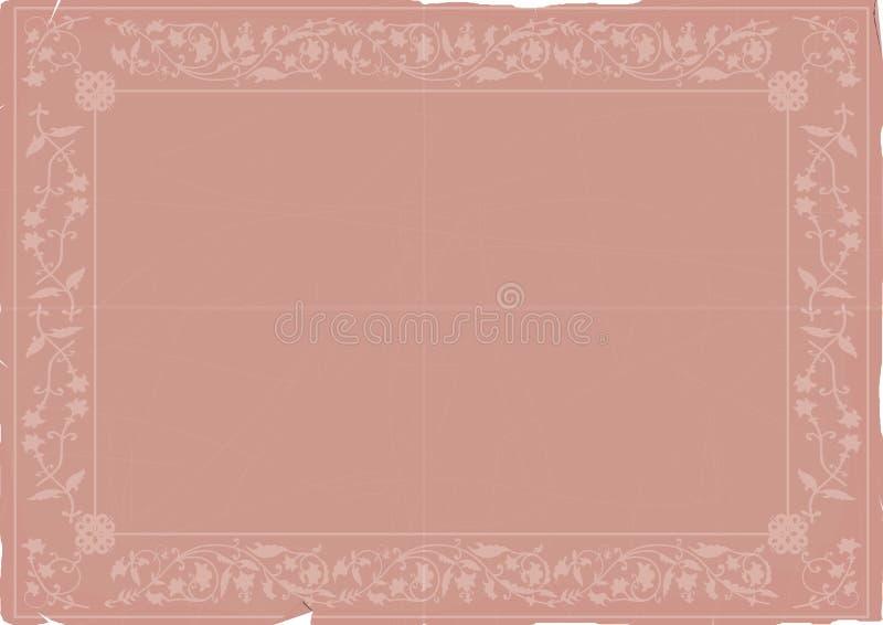 Download Papel con los ornamentos ilustración del vector. Ilustración de elegante - 44852558