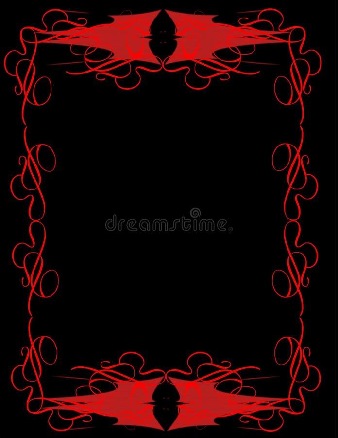 Papel con membrete de los diablos ilustración del vector