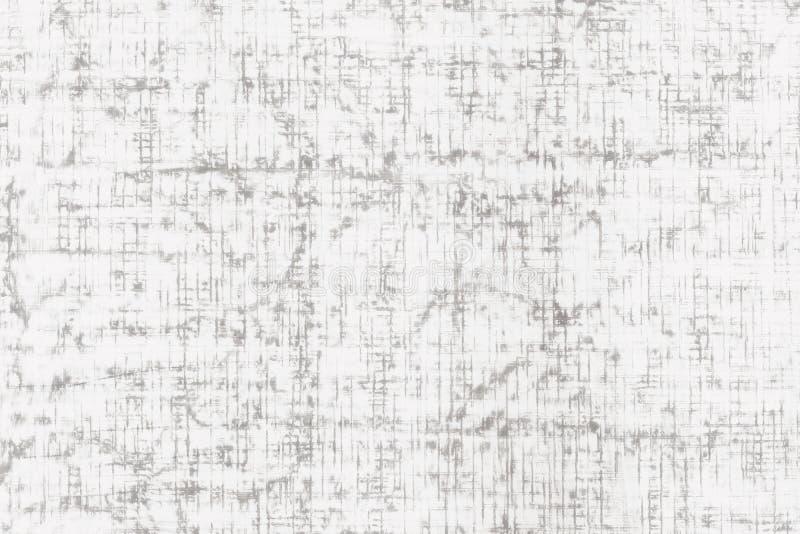 Papel con textura gris fina de la lona de lino ilustración del vector