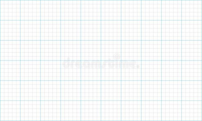 Papel cuadriculado ilustración del vector