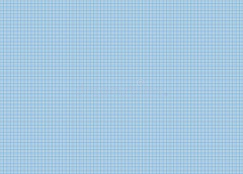 Papel cuadriculado azul exacto fotografía de archivo