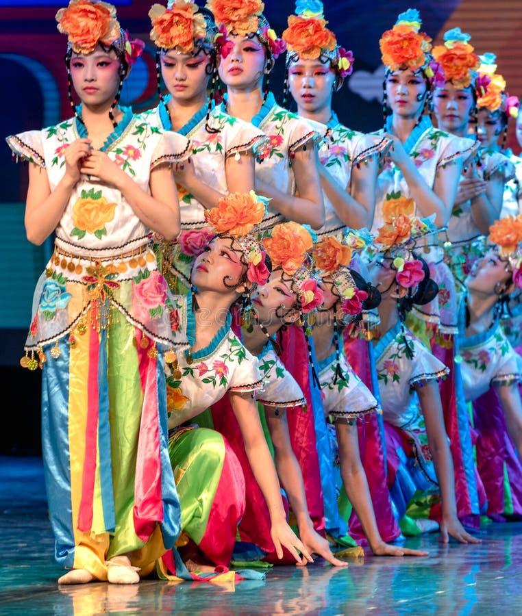 Papel da Dan-cerveja inglesa de Qiao Hua na ópera chinesa imagem de stock