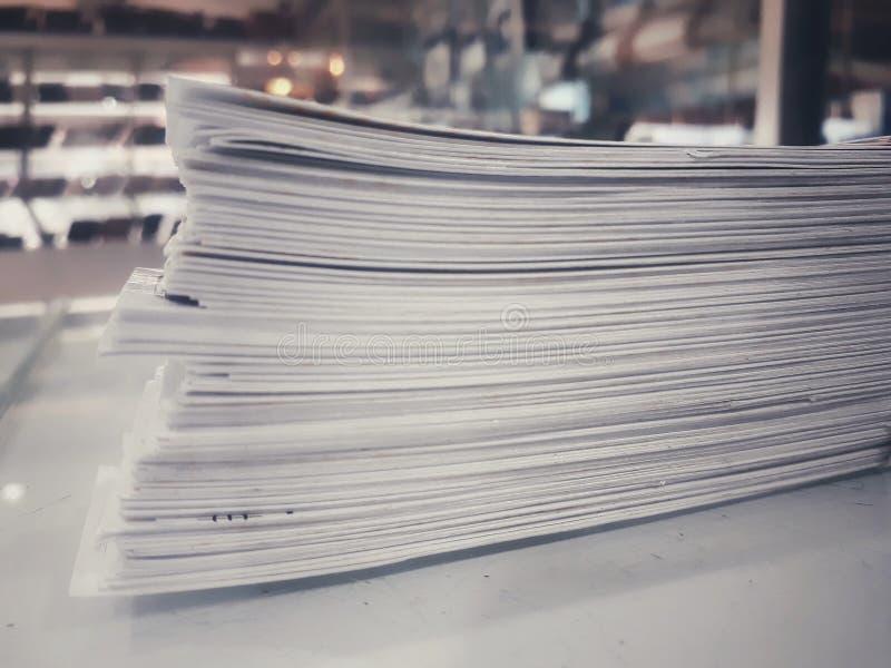 Papel da folha imagens de stock
