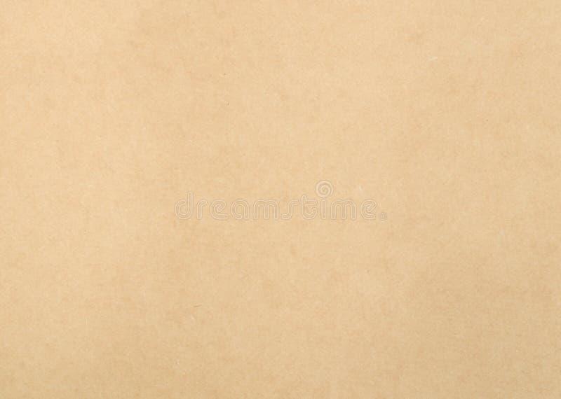 Papel de Brown como fondo foto de archivo libre de regalías