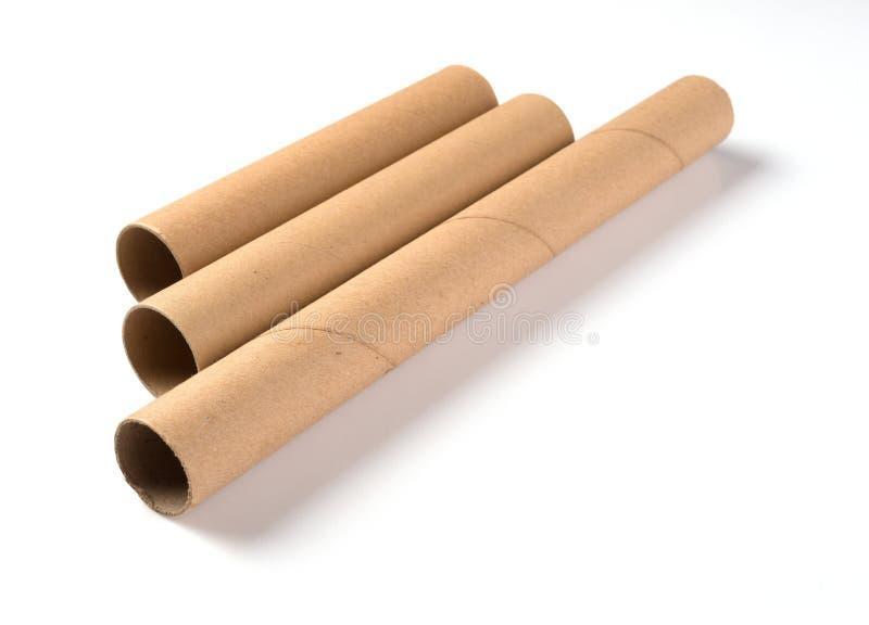 Papel de Brown Rolls imagenes de archivo