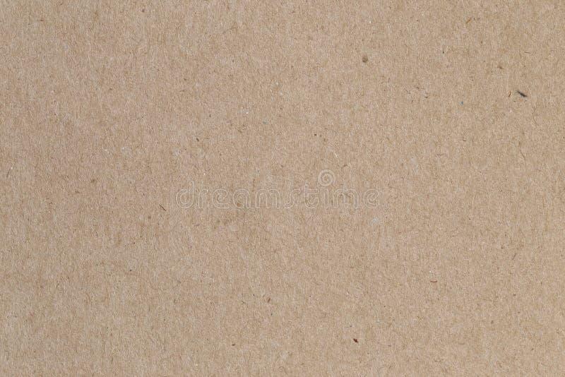 Papel de Brown, textura de la cartulina para el fondo imagen de archivo