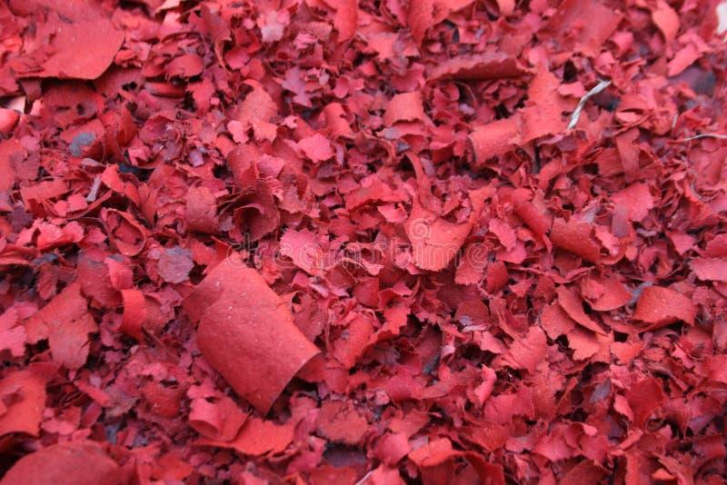 Papel de cigarro vermelho morno da vela imagem de stock royalty free