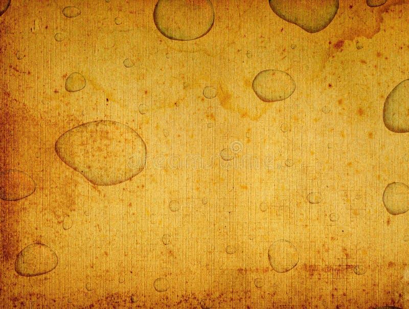 Papel de desecho de la vendimia ilustración del vector