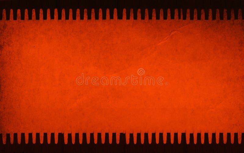 Papel de desecho de la vendimia stock de ilustración