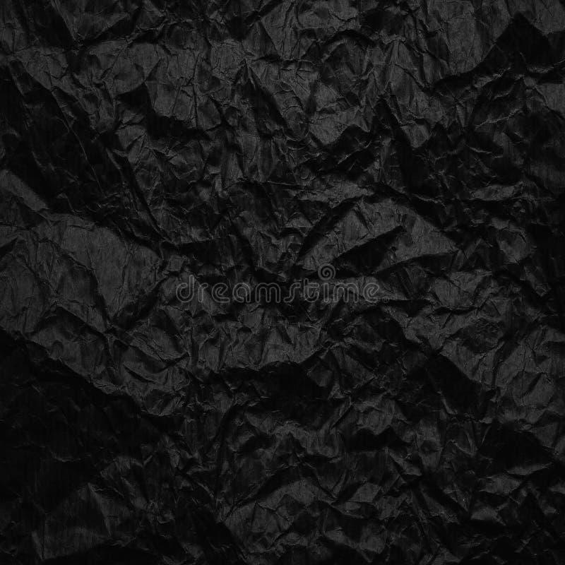 Papel de embalagem Amarrotado A textura amarrotou o papel velho reciclado imagens de stock royalty free