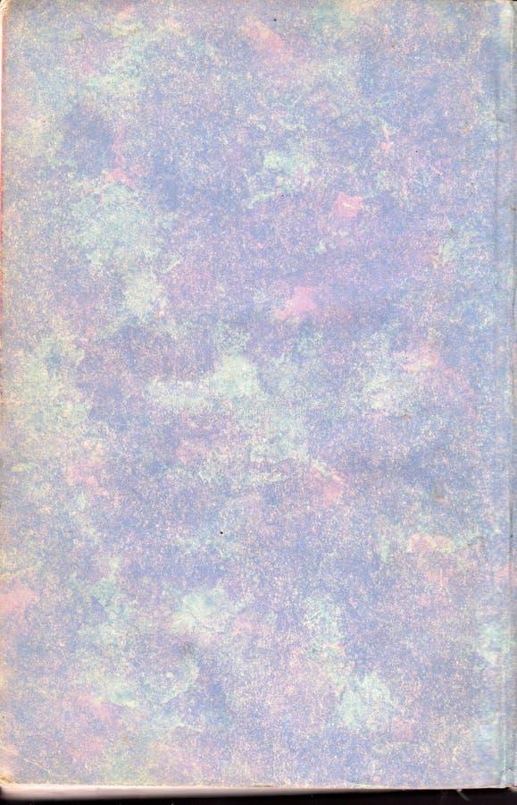 Papel de extremidade roxo do livro da cópia do vintage imagens de stock