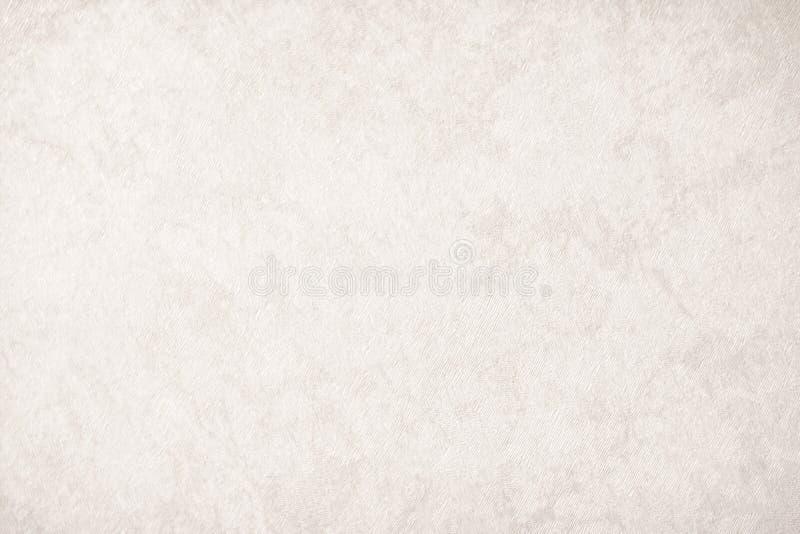 Papel de fundo cinzento de creme na cor bege do vintage, papel da textura de pergaminho, inclinação pastel abstrato do ouro com m imagem de stock