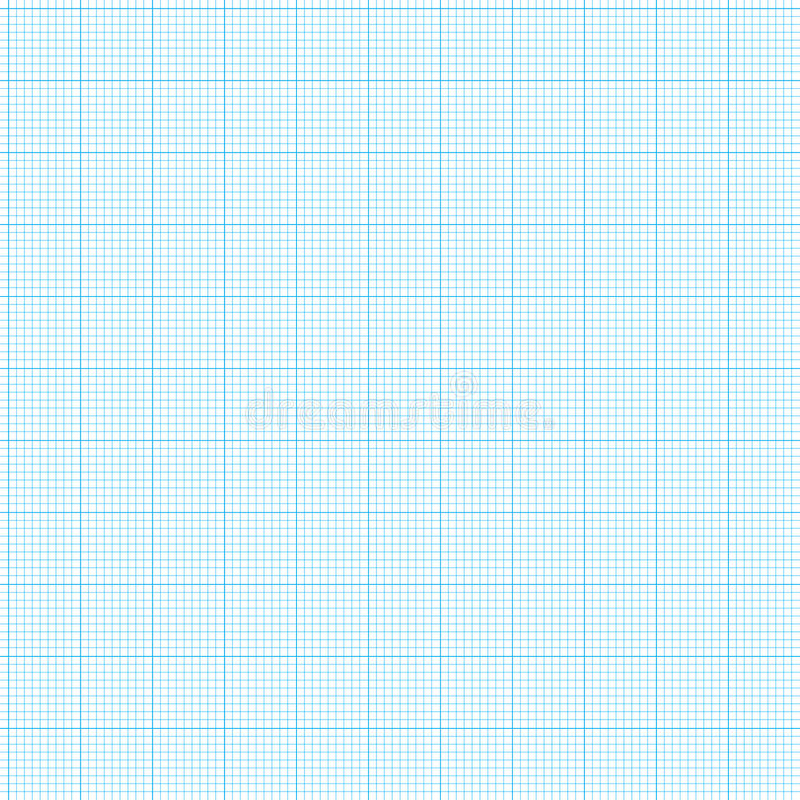Papel de gráfico ilustración del vector