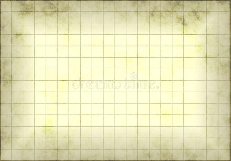 Papel de gráfico de Grunge ilustração do vetor