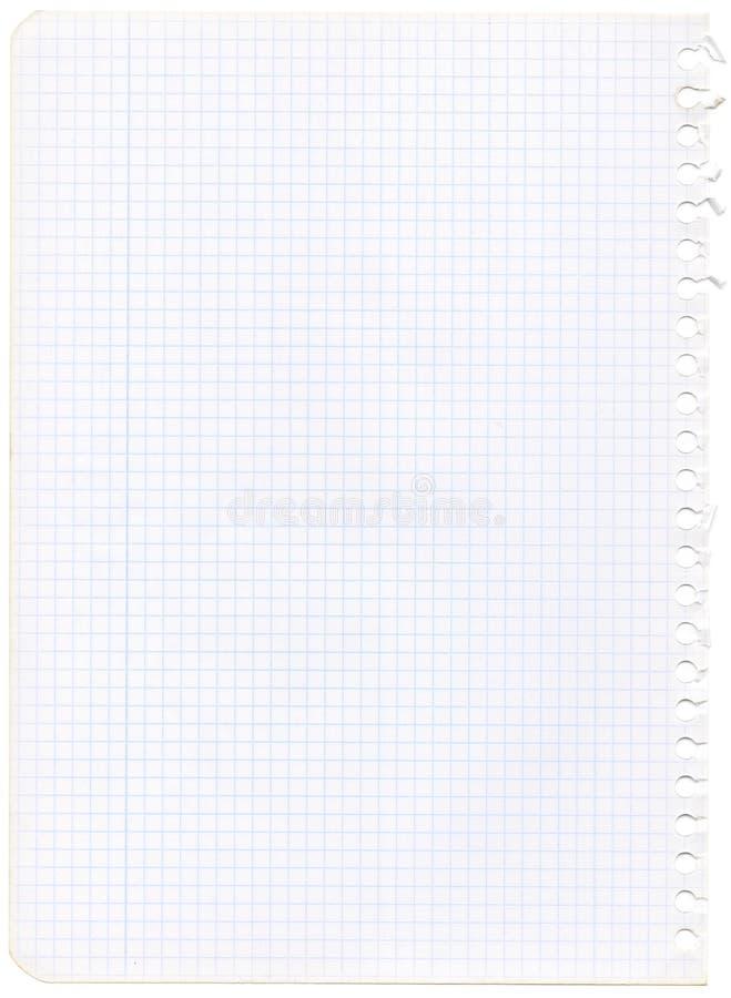 Papel de gráfico velho fotos de stock royalty free