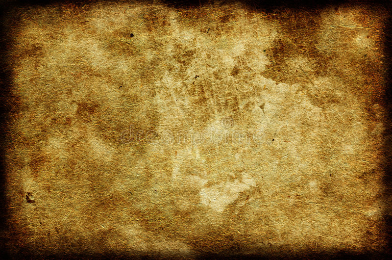 Papel de Grunge com beira fotografia de stock