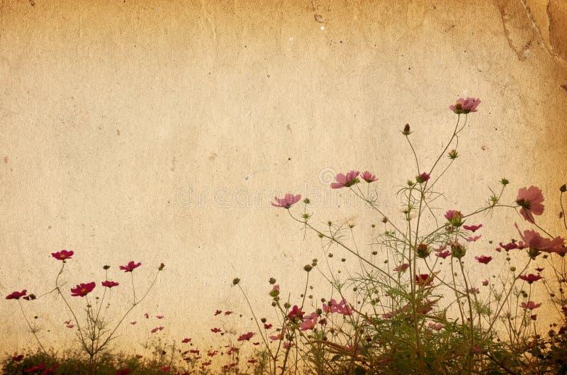 Papel de la flor foto de archivo libre de regalías
