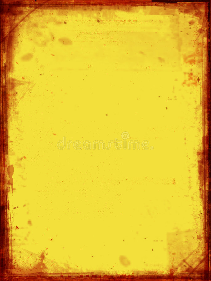 Papel De La Vendimia Foto de archivo