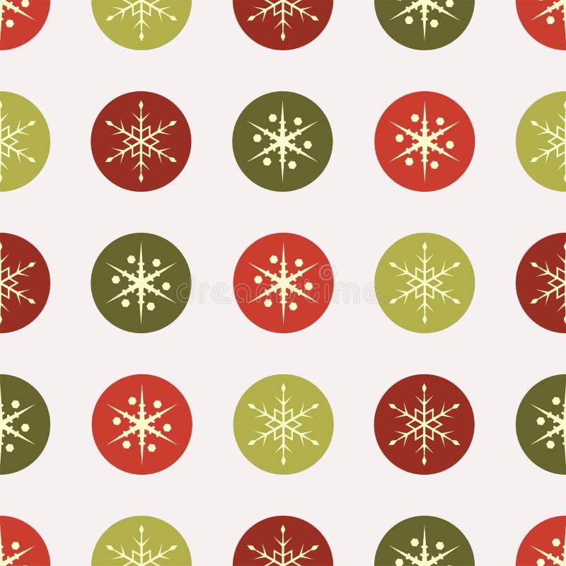 Papel de la vendimia de la Navidad stock de ilustración