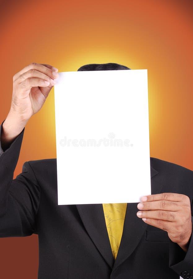 Papel de negócio imagens de stock royalty free