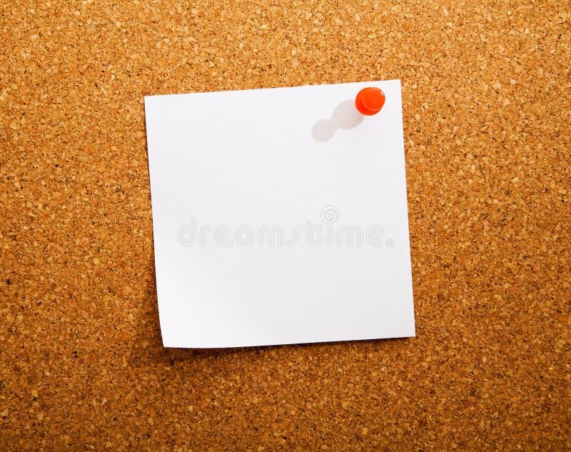 Papel de nota fotografía de archivo libre de regalías