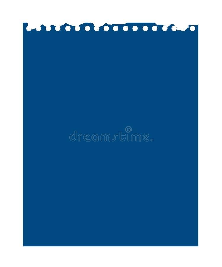 Papel de nota ilustração royalty free
