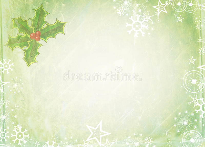 Papel de nota de la Navidad ilustración del vector