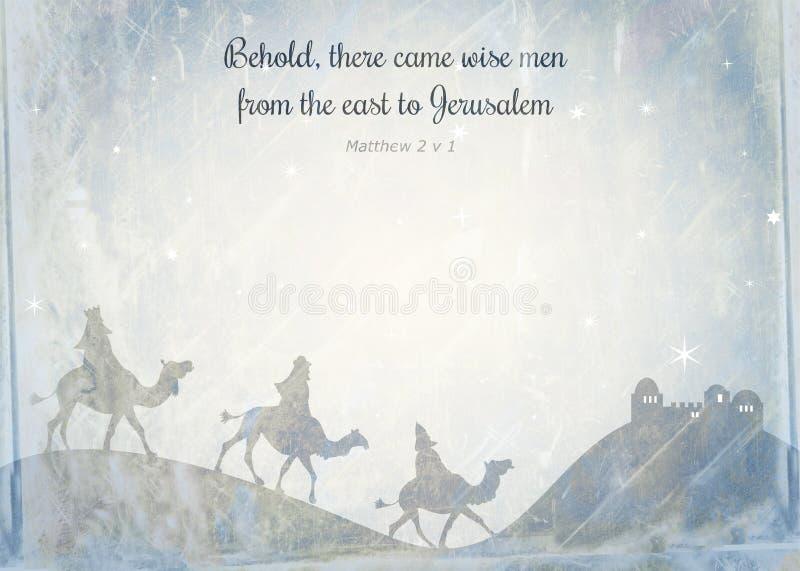 Papel de nota de la Navidad stock de ilustración