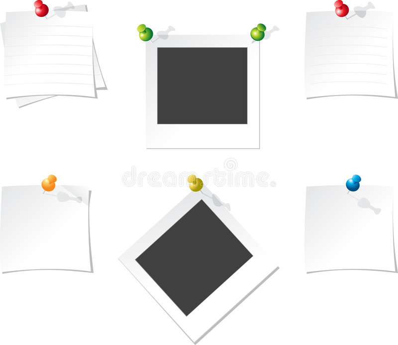 Papel de Ofice ilustración del vector