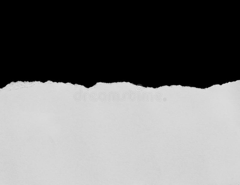 Papel de papel y rasgado rasgado imagen de archivo