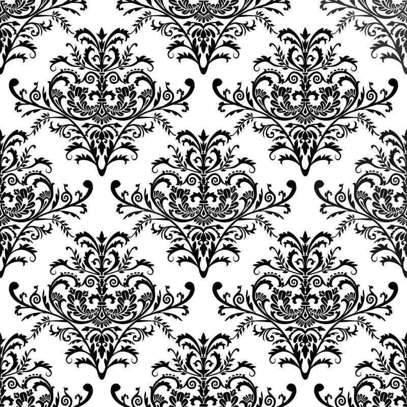 Papel de parede à moda sem emenda, ilustração do vetor ilustração royalty free