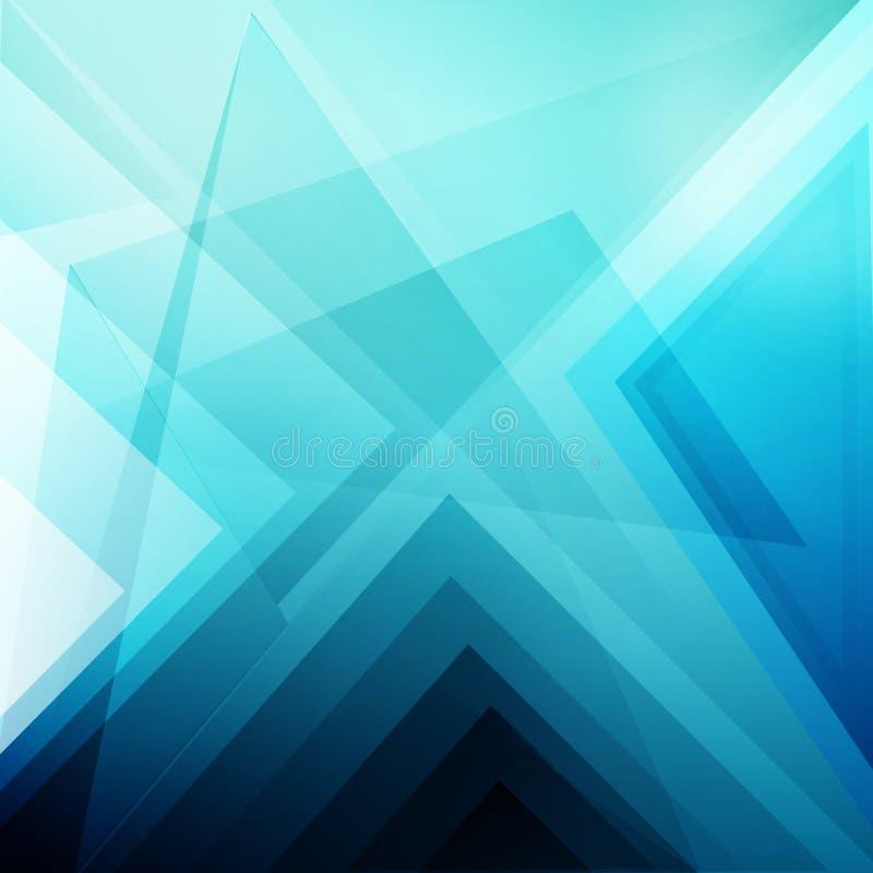 Papel de parede abstrato azul imagens de stock royalty free