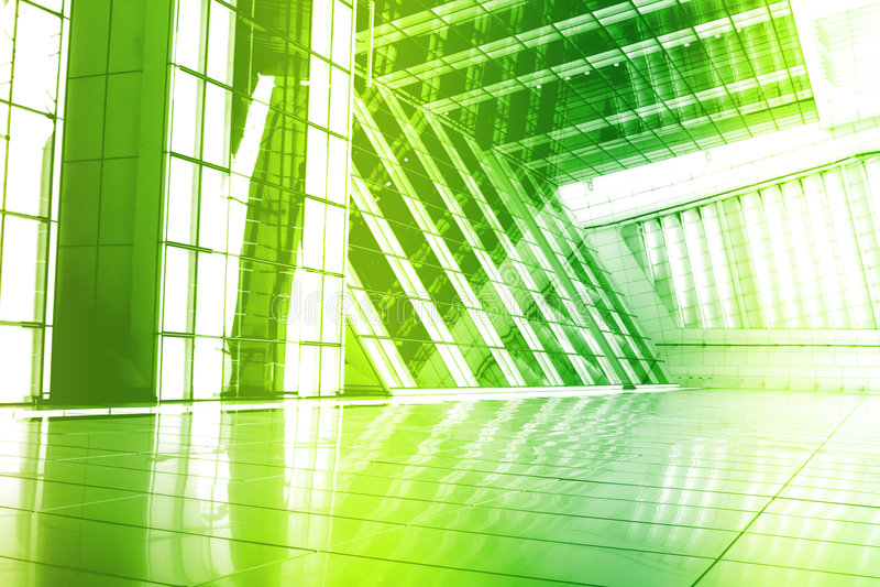 Papel de parede abstrato creativo na moda verde Backgroun ilustração do vetor