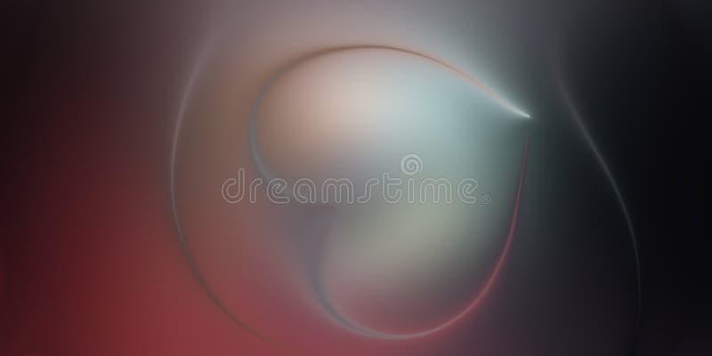 Papel de parede abstrato do fundo do borrão do coração do vetor ilustração do vetor