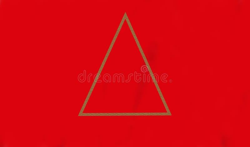 Papel de parede abstrato do triângulo alinha fundos Fundo geométrico da arte foto de stock royalty free