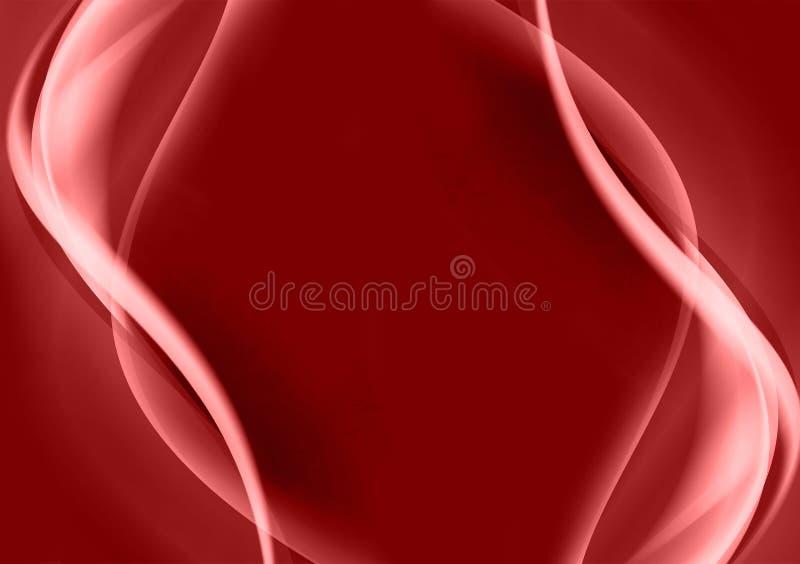 Papel de parede abstrato vermelho do fundo para o uso do projeto ilustração stock