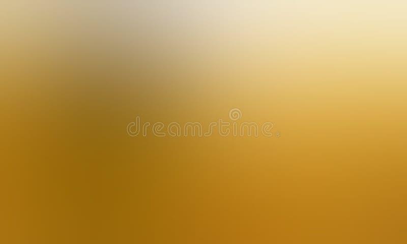 Papel de parede amarelo e branco do fundo do borrão da cor pastel ilustração stock