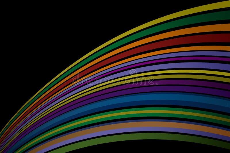 Papel de parede artístico do fundo da cor imagens de stock royalty free