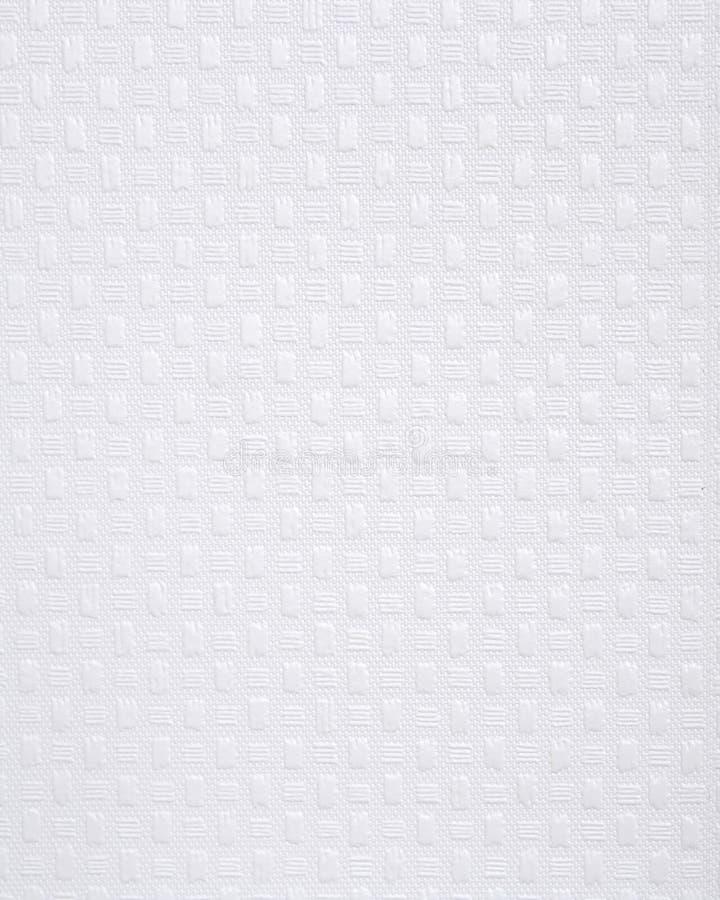 Papel de parede branco de pano foto de stock