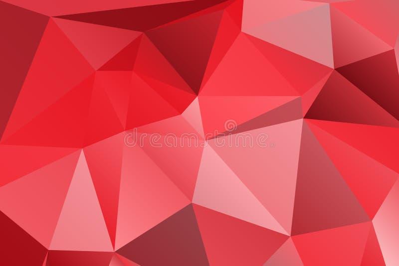 Papel de parede brilhante Textura geométrica Teste padrão colorido Conceito creativo ilustração royalty free