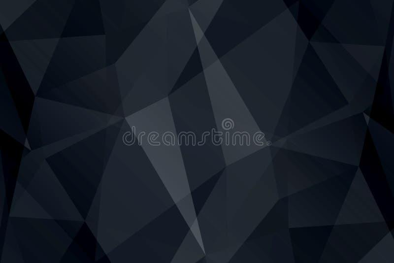 Papel de parede brilhante Textura geométrica Teste padrão colorido Conceito creativo ilustração do vetor