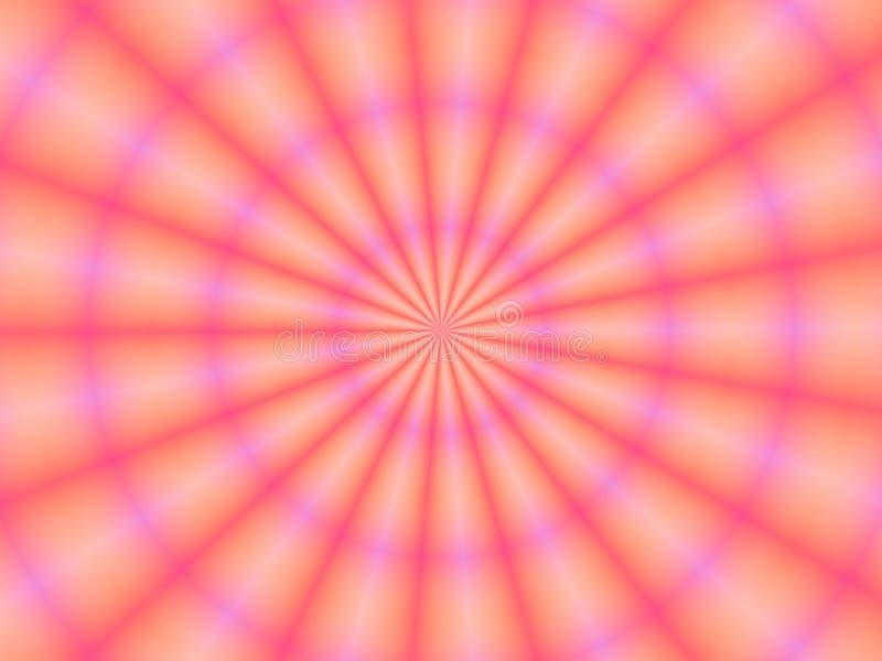 Papel de parede cor-de-rosa do fundo da pétala ilustração do vetor