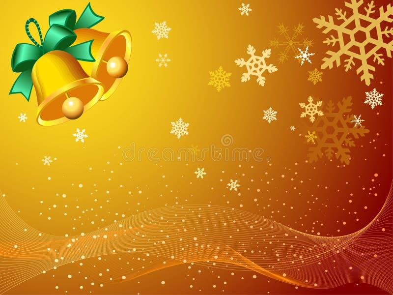 Papel de parede da fantasia do Natal ilustração royalty free