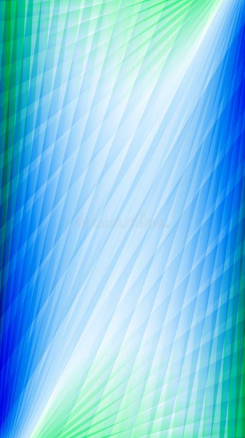Papel de parede da luz de néon de verde azulado ilustração royalty free