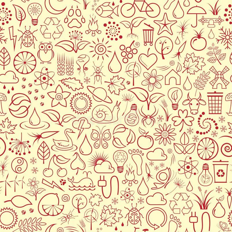 Papel de parede da natureza ilustração stock