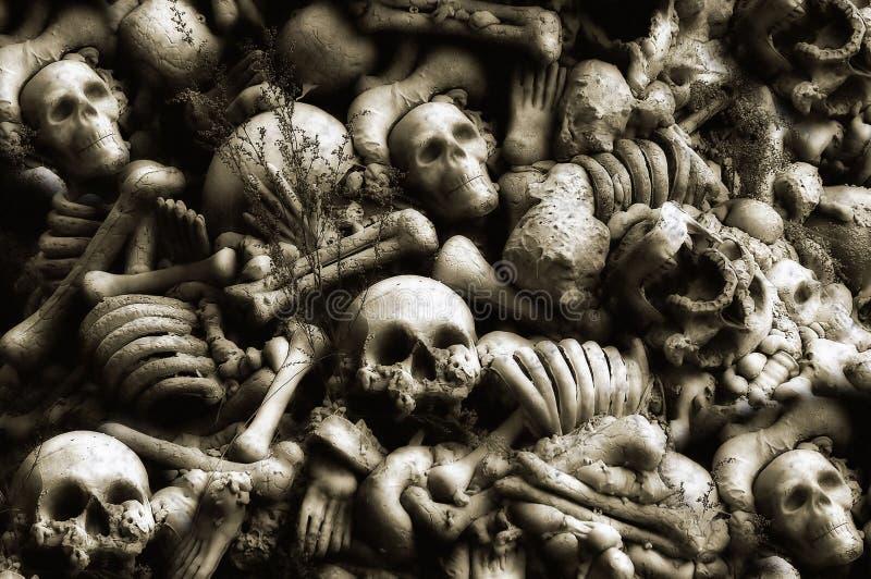 Papel de parede de Halloween fotografia de stock royalty free