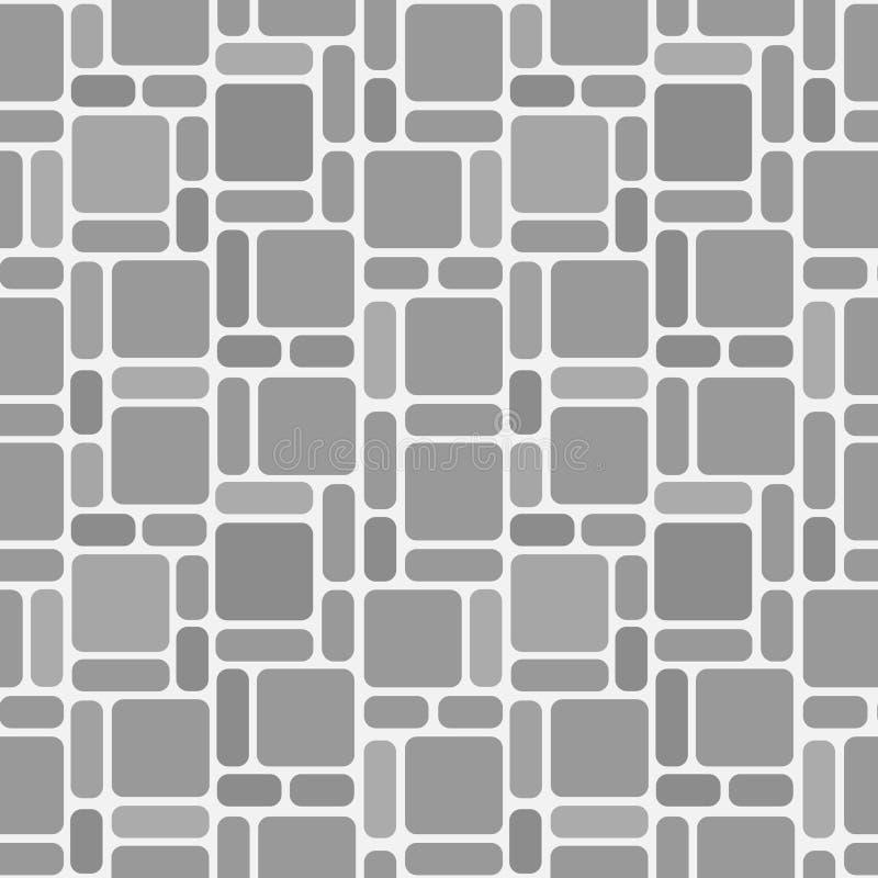 Papel de parede de pedra sem emenda ilustração do vetor