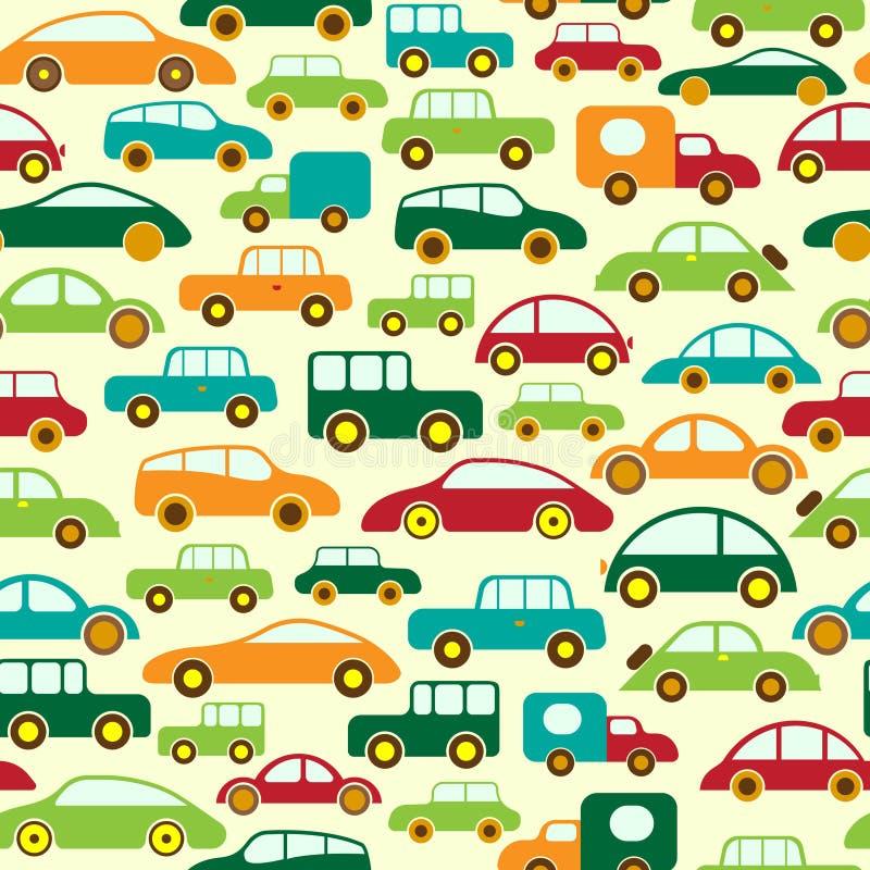 Papel de parede do carro ilustração stock