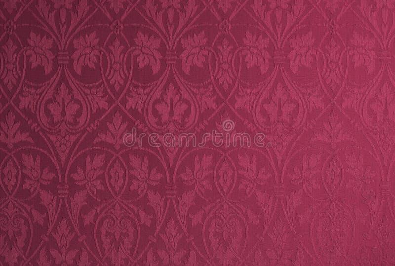 Papel de parede do damasco ilustração stock